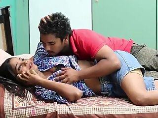 Hot desi shortfilm 293-Boobs squeezed, kissed, pressed, grabbed, navel kiss