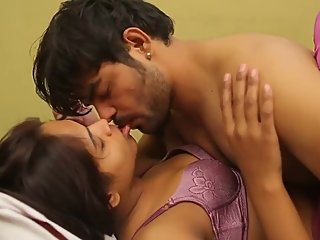 Hot desi shortfilm 265 - Boobs squeezed & kissed in purple bra, smooches