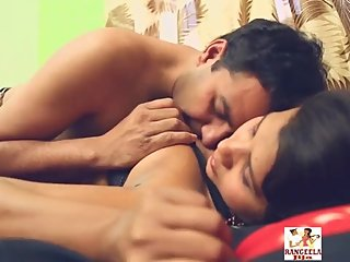Hot desi shortfilm 60 - Boobs squeezed & kissed in bra, navel kiss, smooch