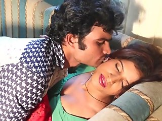 Hot desi shortfilm 27 - Boobs pressed many times & kissed in green blouse