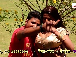 Bhojpuri hot song 8 - Boobs pressed & grabbed many times in golden blouse