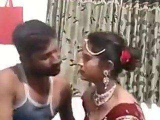 Pakistani Couple Making video on first night of marriage Suhag raat