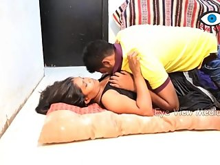 Hot desi shortfilm 95 - Boobs squeezed & kissed in black blouse, navel kiss