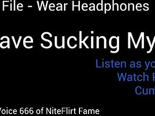 Trance File - Crave Sucking My ass - Wear Headphones listen as you stroke