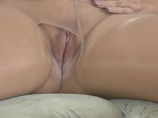 Pussy games in nylons