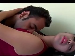 Hot shortfilm 7 - Desi bhabhi's big boobs, navel & cleavage licked nicely