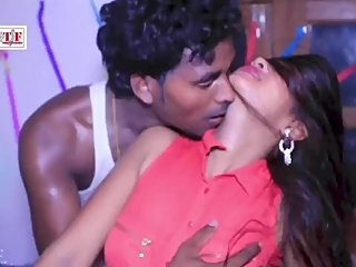 Hot bhojpuri song 32 - Boobs pressed hard, kissed, navel fingered & kissed