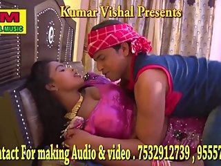 Bhojpuri hot song9 - Boobs squeezed, pressed hard many times in pink blouse