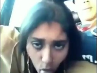 Hot Indian blowjob in car [extended]