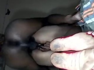 South India Anna does anal with BBW wife