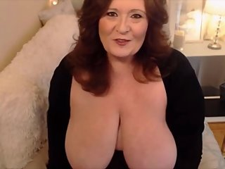 Sensitive BBW MILF with immense boobs and dirty desires