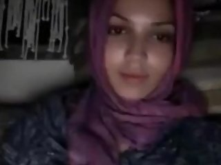 Arab Muslim shows her perfect boobs