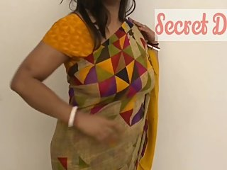 Big Titu's Indian Wife showing How to wear a Saree