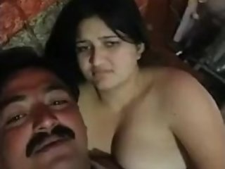 Desi uncle having sex after drunk with her girlfriend in HD