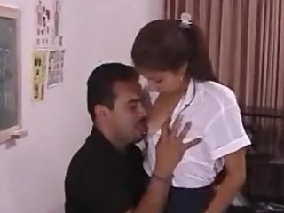 Indian Teacher teach Sex..