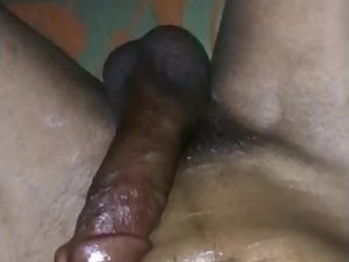 Oiled massage my cock and do masturbation feel awesome