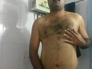 indian uncle jacking off
