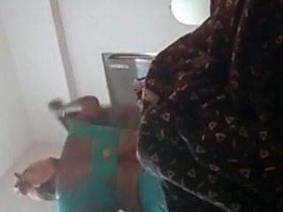 Indian aunty bath saree change rajyalakshmi