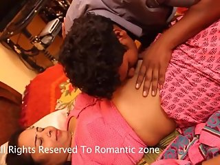 Hot desi shortfilm 350 - Boobs squeezed in blouse, kissed, navel kisses