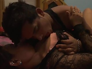 Very hot desi shortfilm 104 - Boobs squeezed hard, lick, navel lick, smooch