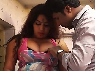 Hot desi shortfilm 53 - Big boobs pressed, squeezed, kissed & navel kiss