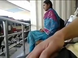 Guy Dick Flash infront Of Desi Girl