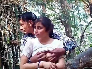 Indian teens having sex in outdoor
