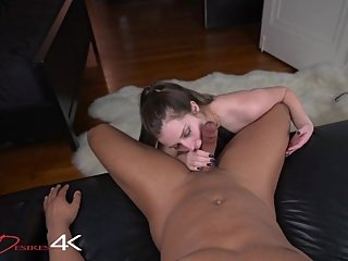 He Couldn't Help Himself, A BBC Gives Me My First Creampie!!!! DarkDesire4K