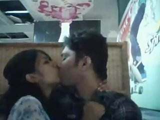Desi Bangladeshi horny lover couple public sex in Restaurent