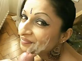 Indian Bhabhi Sucking Husband Cock